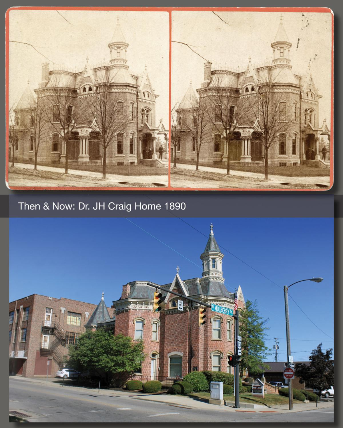 Then & Now: Dr Craig's home