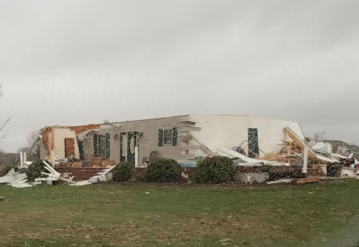 Tornado Damage from Red Cross 4