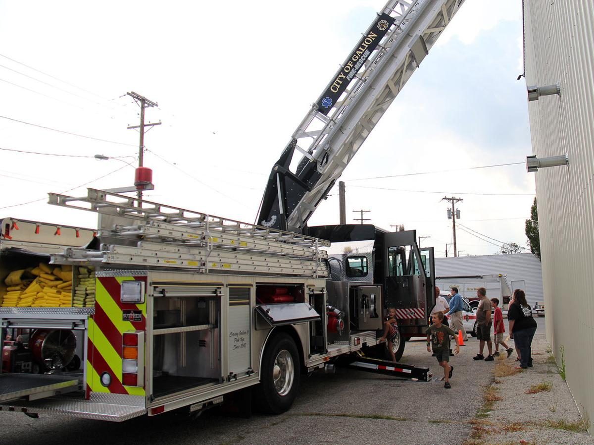 Galion fire department s new truck