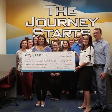 Startek helps Visual Bucket List Foundation grant children's wishes