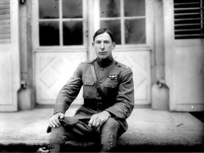 America's first military aviator called Mansfield home