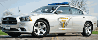 Ohio State Highway Patrol car