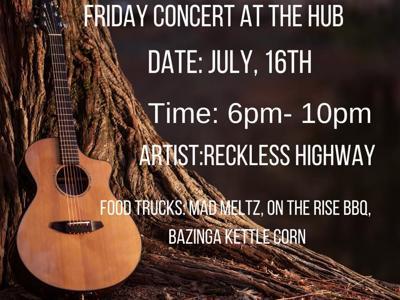 Live music returns to Crestline on Friday night