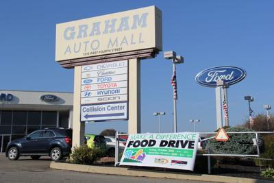Graham Automall Mansfield >> Make A Difference Food Drive Planned Friday Saturday