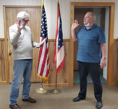 Galion swears in new auditor