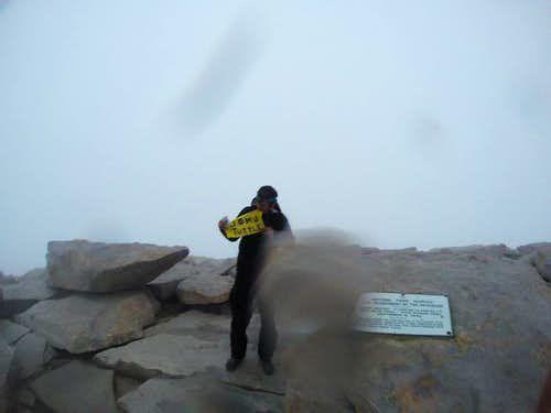 Mt. Whitney Summit Photo
