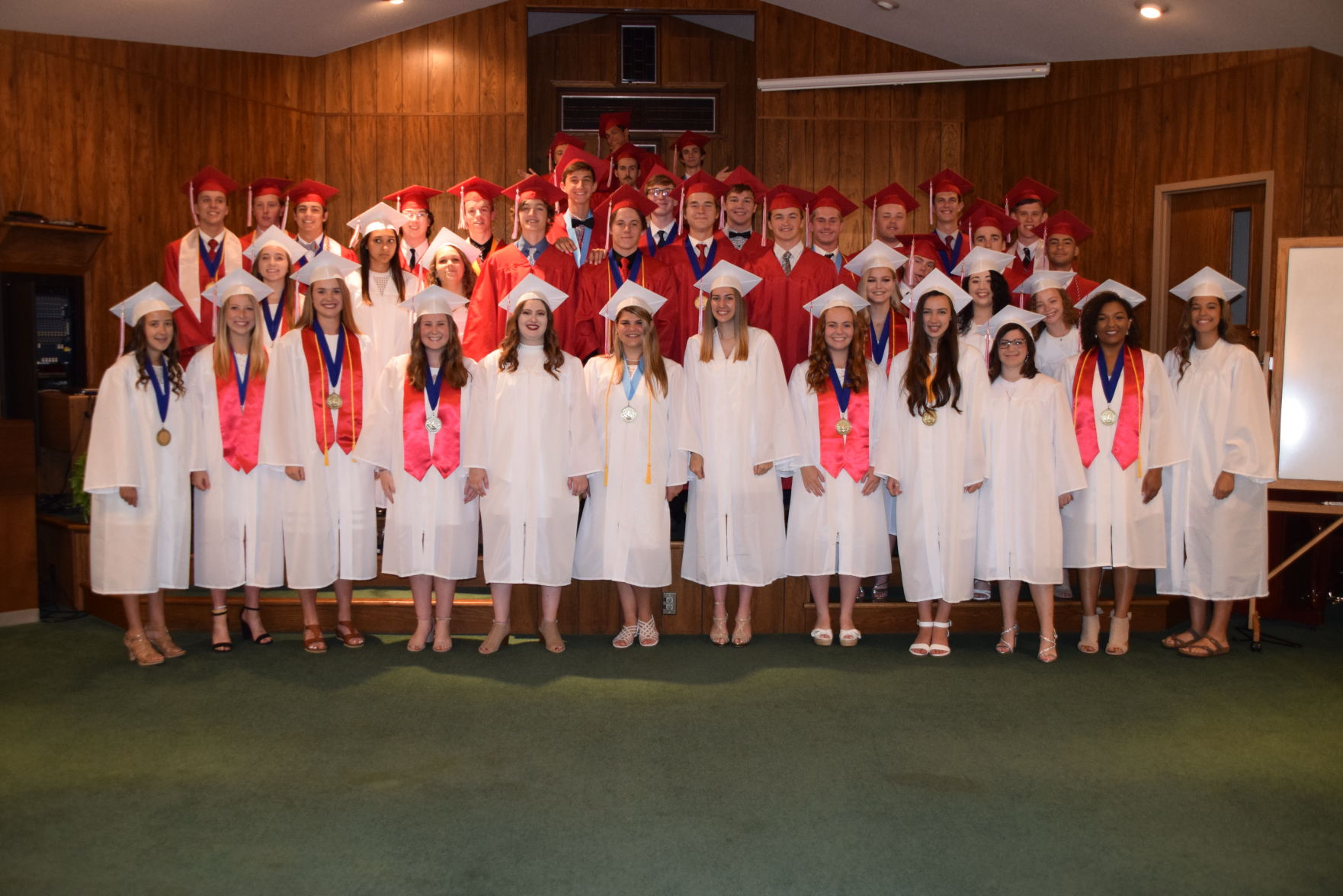 GALLERY: Mansfield Christian Graduation 2019