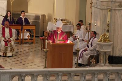 Bishop Daniel Thomas at St. Peter's