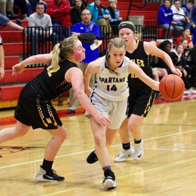 Short-handed Spartans fall to Monroeville