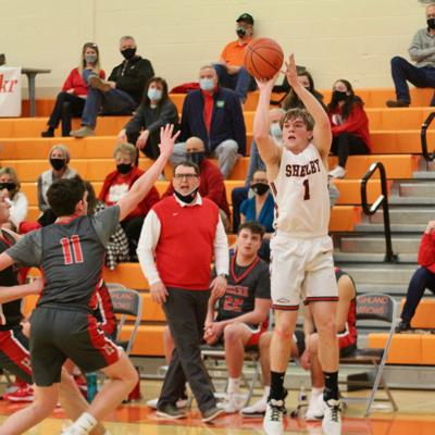 GALLERY: Shelby vs. Huron Boys Basketball
