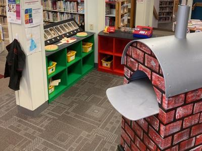 Pizza Parlor exhibit new at Marvin Memorial Library in Shelby