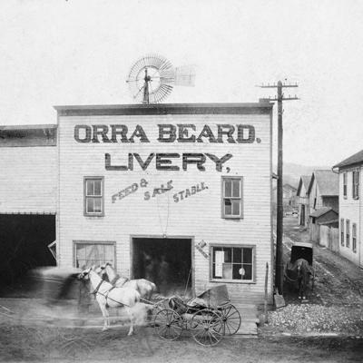 The Orra Beard Livery dominated Loudonville's stable trade in the 1890s