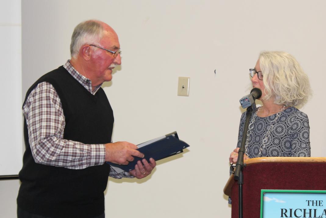 Mark Meinzer Richland Soil Volunteer of the year