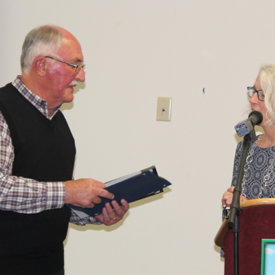 Meek, Meinzer honored by Richland Soil & Water Conservation District