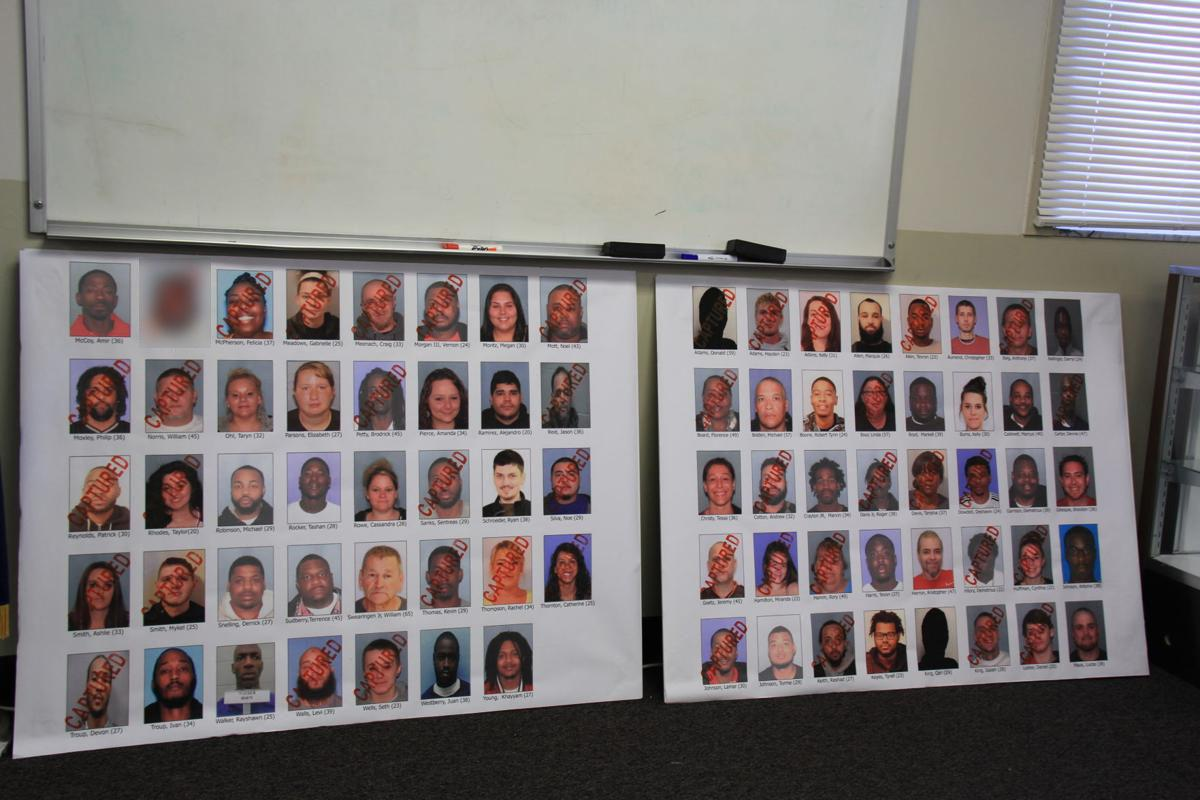 Early morning, two-state drug sweep nets 43 alleged drug traffickers