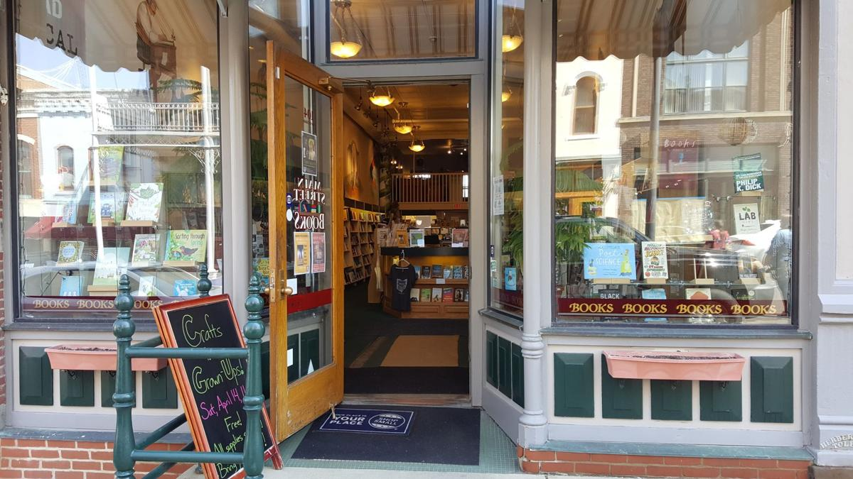 Main Street Books from Outside