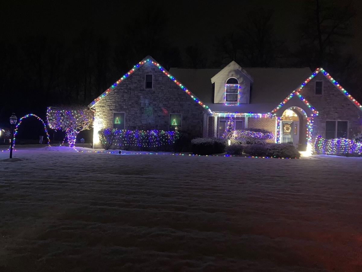 Third place Ontario Christmas lights