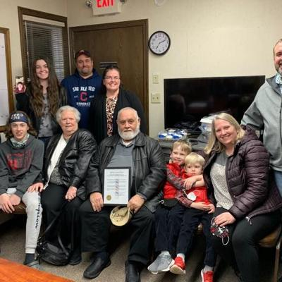 Butler barber recognized; village gives him an honorary day