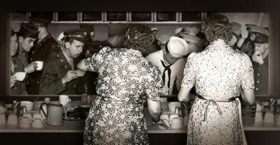 Crestline canteen 1942