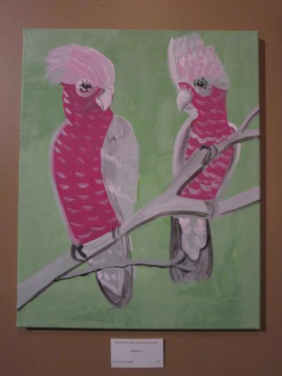 artwork at Happy Grape