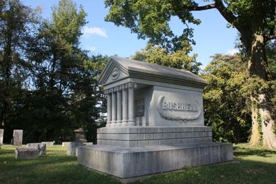 Open Source: Who was the 1st person buried in Mansfield Cemetery?
