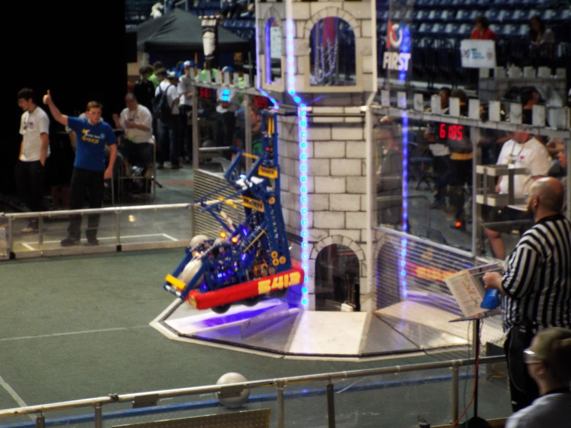 Local Stellar Robotics team competing in national event at Dayton