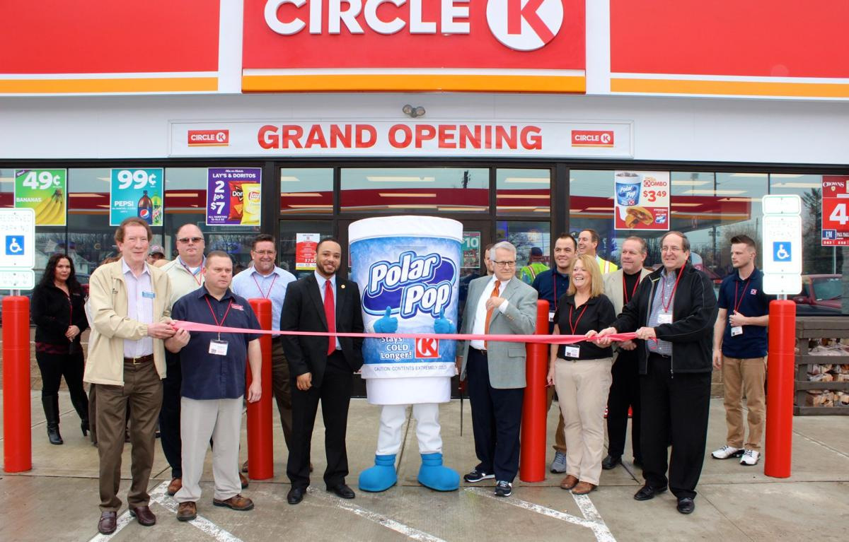 circle k celebrates grand opening at cook road location