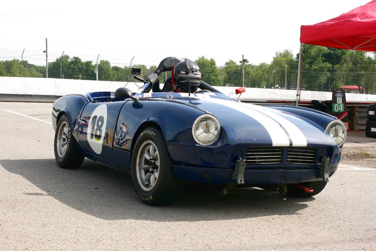 Vintage muscle cars invade Mid-Ohio | Local Sports News ...