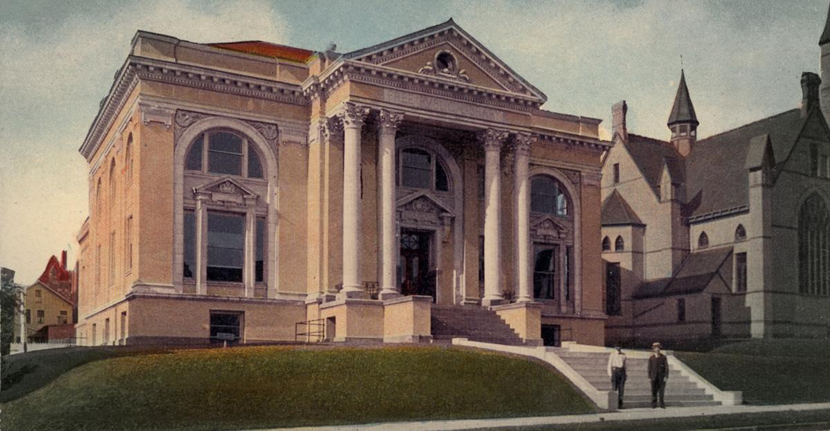 Mansfield Free Public Library 1909