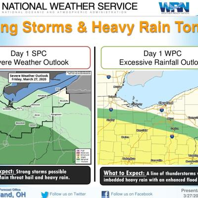 Flash flood watch issued for north central Ohio