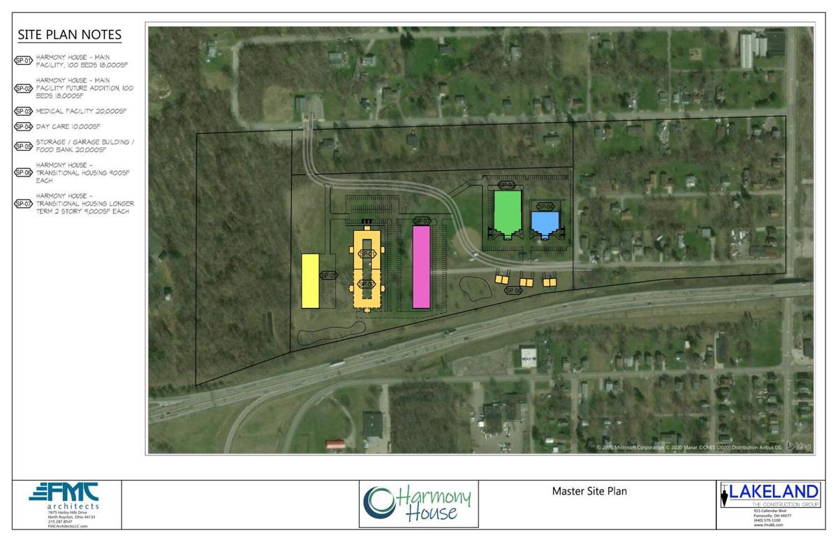 Homeless site plan