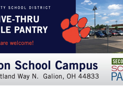 Mobile food pantry returns to Galion Schools campus April 28