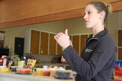 Food bank gives tips on healthy eating with cooking, nutrition class
