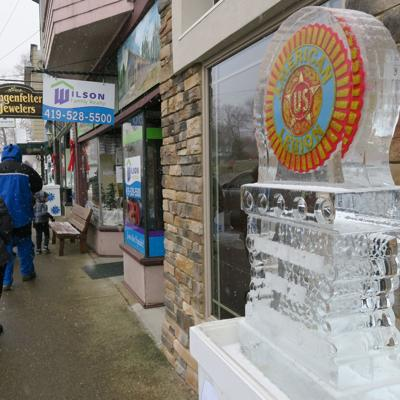 Ice sculptures will be displayed Saturday at Loudonville's Mohican Winterfest