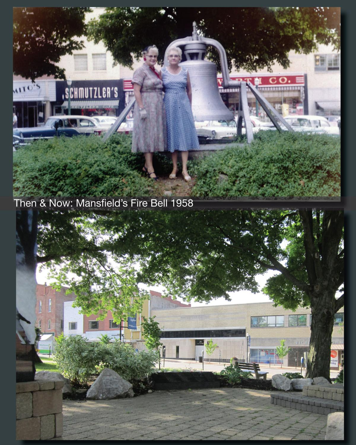 Then & Now: Mansfield's Fire Bell 1958