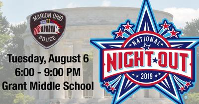 Marion National Night Out at Grant Middle School August 6