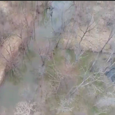 Richland, Crawford county officials get bird's-eye view of Black Fork blockages