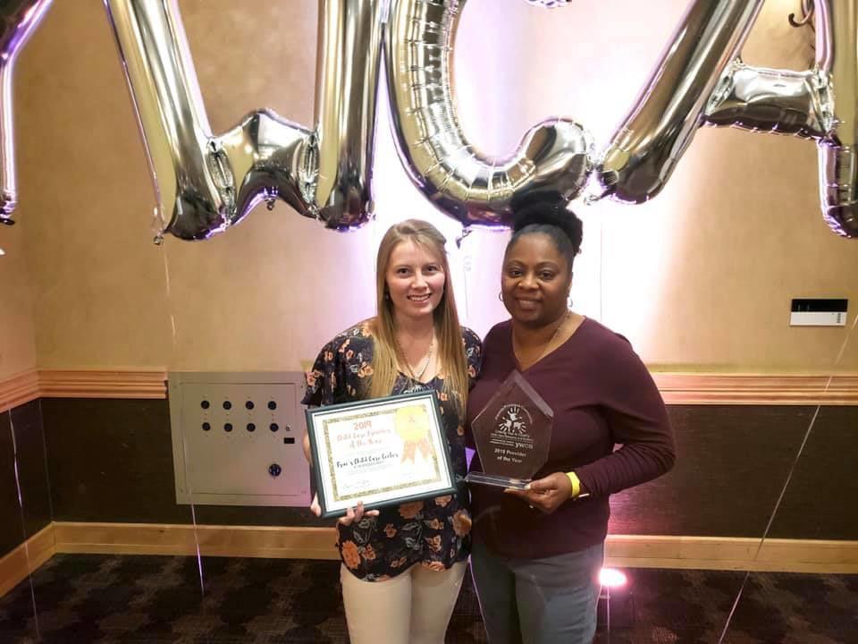 Mansfield YMCA recieves award
