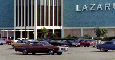 Lazarus at Richland Mall in 1973