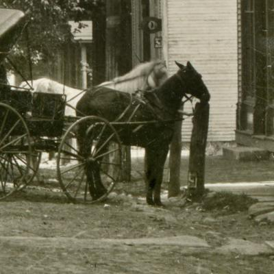 The Richland Album shares photos of hitching posts & rails