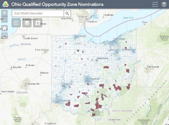 Ohio opp. zones