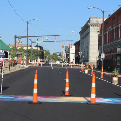 Walkable experiment begins in Downtown Mansfield