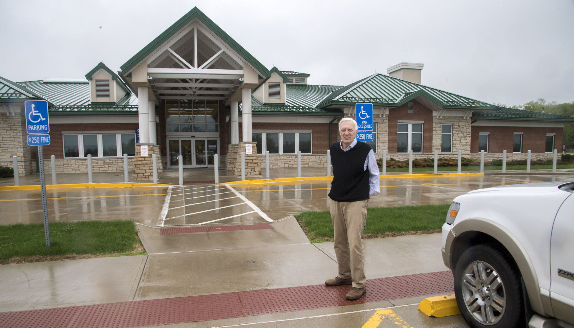Lucas-area architect reflects with pride on local work