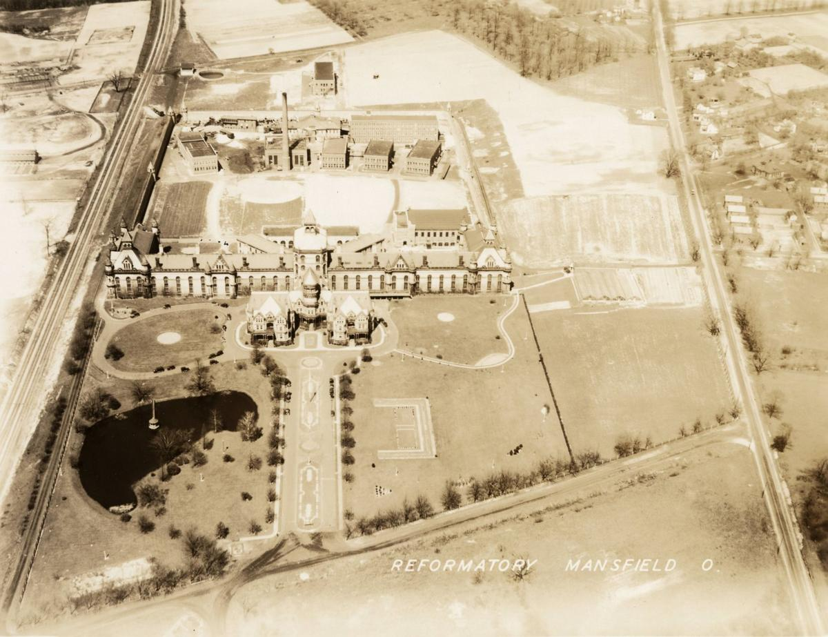 Aerial view of Ohio State Reformatory