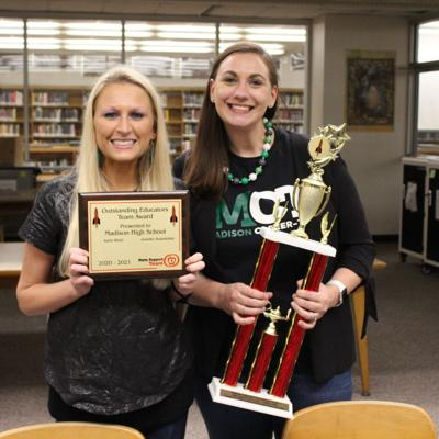 Madison teachers receive Outstanding Educator Award