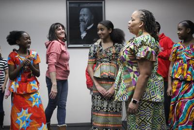 Black History month at the library.JPG