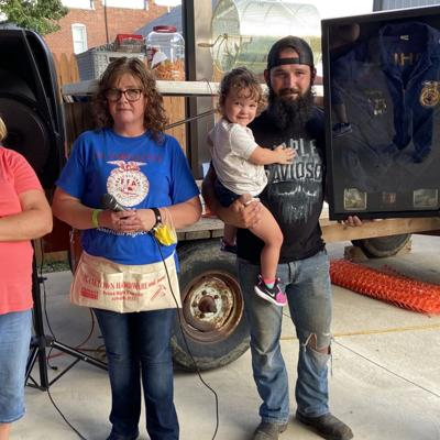 Plymouth's Snipes family starts FFA Legacy Jacket fund