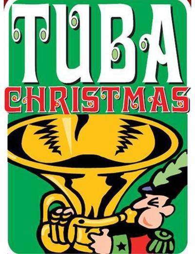 Tuba Christmas logo