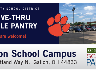 Mobile food pantry set for June 30 at Galion Schools campus