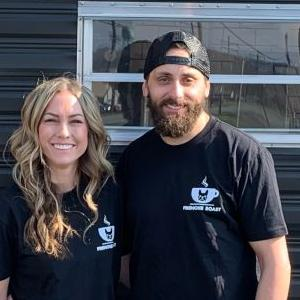 Mansfield couple launches mobile coffee shop